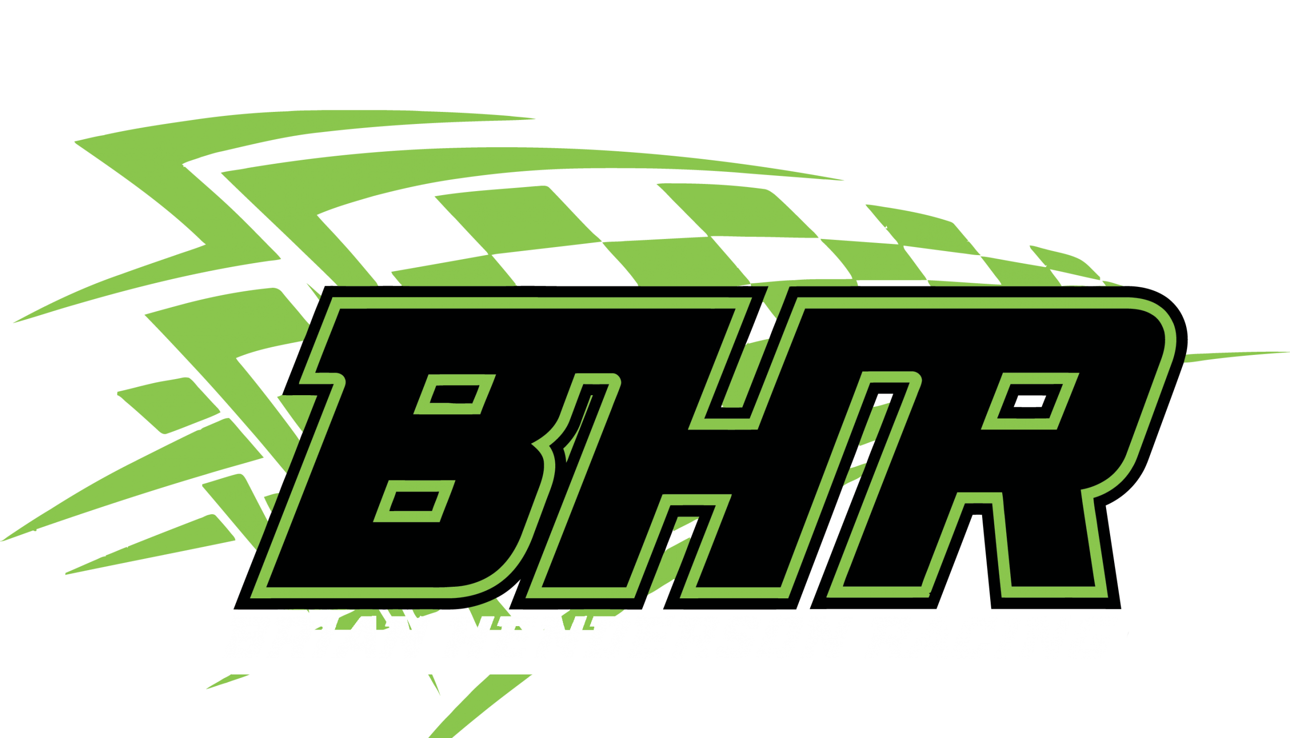 BHR Logo with white lettering